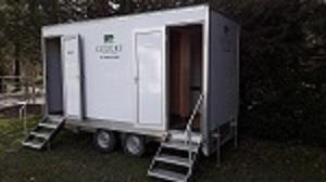 2 x 1 toilet trailer