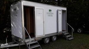 3 x 1 Toilet Trailer