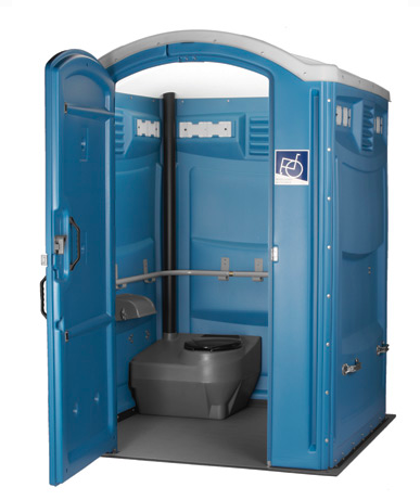 Disabled toilet interior