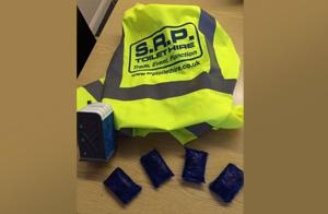chemical blue sachets